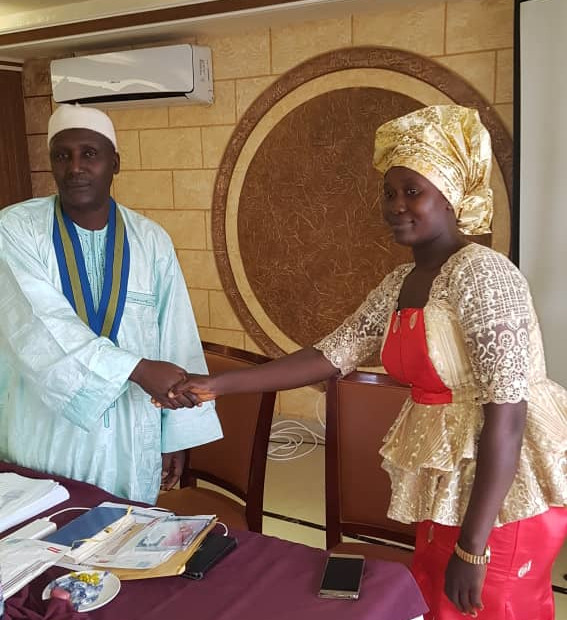 Invigilator Honored